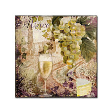 Color Bakery 'Wine Country I' Canvas Art