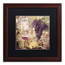"Color Bakery 'Wine Country Ii' Matted Framed Art, 16"" x 16"""