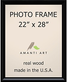 """Amanti Art Steinway Black 22"""" X 28"""" Opening Wall Picture Photo Frame"""