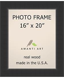 "Amanti Art Corvino Black 16"" X 20"" Opening Wall Picture Photo Frame"