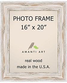 "Alexandria Whitewash 16"" X 20"" Opening Wall Picture Photo Frame"