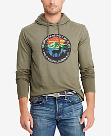 Polo Ralph Lauren Men's Big & Tall Great Outdoors Jersey Hooded T-Shirt