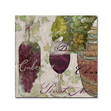 Color Bakery 'Wine Cellar I' Canvas Art
