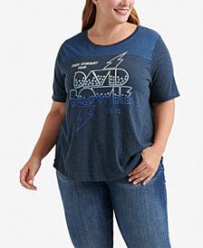 Lucky Brand Plus Size David Bowie Tour T-Shirt