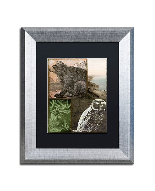 "Trademark Global Color Bakery 'Cabela Iii' Matted Framed Art, 11"" x 14"""