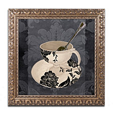 Color Bakery 'Vintage Cafe Ii' Ornate Framed Art