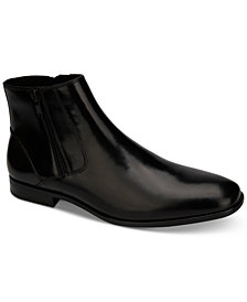 Kenneth Cole Men's Aaron Leather Zip Boots