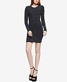 BCBGeneration Puff-Shoulder Bodycon Dress