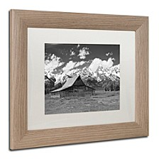 "Michael Blanchette Photography 'Thomas Moulton Barn' Matted Framed Art, 11"" x 14"""