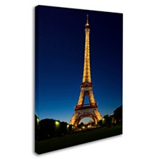 "Michael Blanchette Photography 'Evening Light Show' Canvas Art, 14"" x 19"""