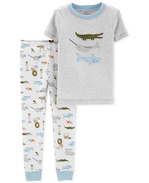 cd87d1bce Carter s Baby Boys 2-Pc. Cotton Pajamas - Pajamas - Kids - Macy s