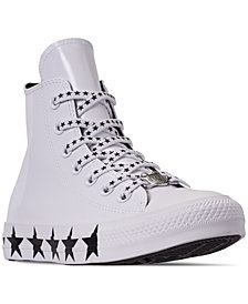Converse Women's Chuck Taylor All Star x Miley Cyrus High Top Casual Sneakers from Finish Line