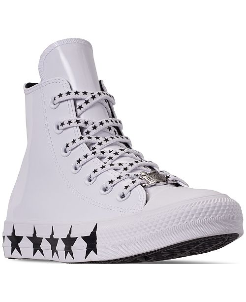 d0f8c767709b ... Converse Women s Chuck Taylor All Star x Miley Cyrus High Top Casual  Sneakers from Finish ...