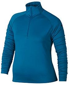Nike Plus Size Pro Warm Half-Zip Tra