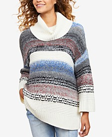 Cowl-Neck Sweater