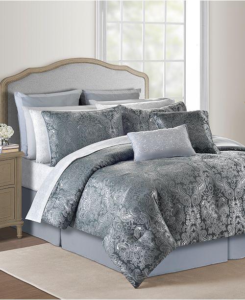 Jaiden 20 Pc Green Queen Comforter Set