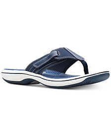 Clarks Collection Women's Brinkley Sail Flip-Flops