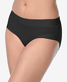 Warner's Women's Plus Size Easy Does It Stretch Hipster RU9331P