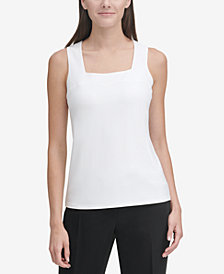 Tommy Hilfiger Square-Neck Tank Top