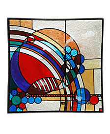 "Frank Lloyd Wright March Balloons Square Plate, 11.75"" x 2.5"""