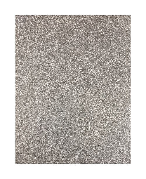 Brewster Home Fashions Silver Sparkle Adhesive Film Set Of 2