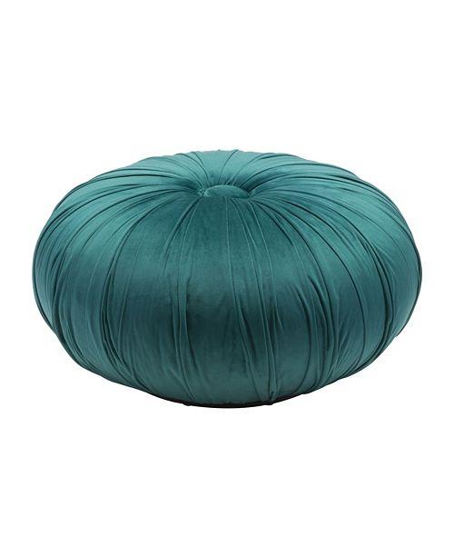Zuo Bund Ottoman  Green Velvet