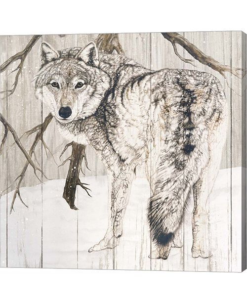 Metaverse Wolf in Woods o by Jacquie Vaux