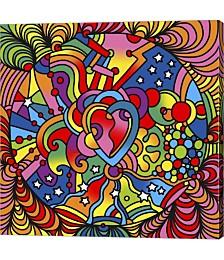 Pop Art Heart S by Howie Green