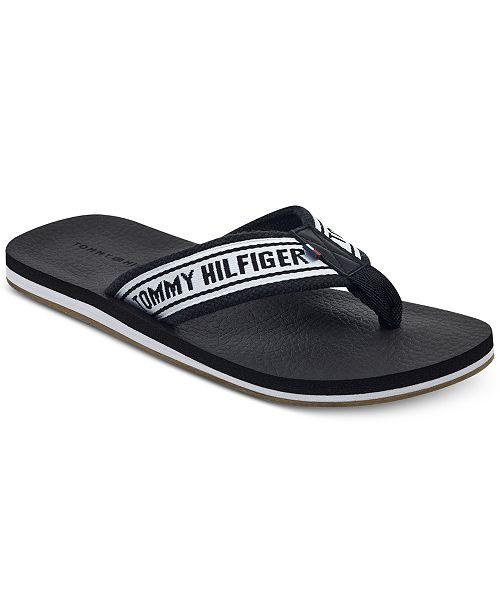 e8859ad93 Tommy Hilfiger Men s Doland Flip Flops   Reviews - All Men s Shoes ...