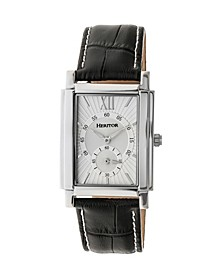 Automatic Frederick Silver Leather Watches 32mm
