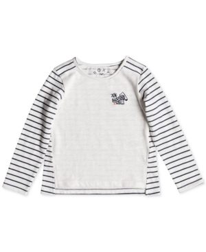 image of Roxy Toddler Girls Blossom Roses Striped Top