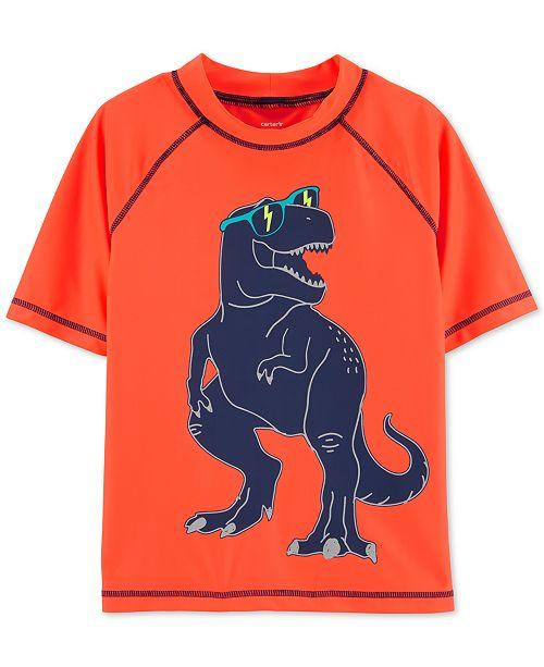 2f641fb4b5 Carter's Little & Big Boys Dino-Print Rash Guard & Reviews ...