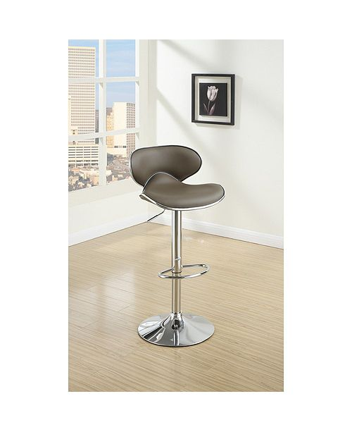 Benzara Modish Bar Stool with Gas Lift, Set of 2