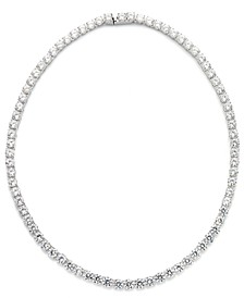 Cubic Zirconia and Crystal Classic Necklace (29 ct. t.w.) Necklace, Created for Macy's