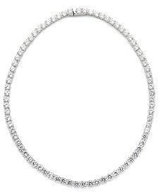 Eliot Danori Cubic Zirconia and Crystal Classic Necklace (29 ct. t.w.) Necklace, Created for Macy's