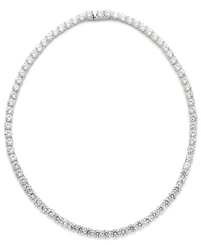 Danori Necklace, Cubic Zirconia and Crystal Classic Necklace (29 ct. t.w.)