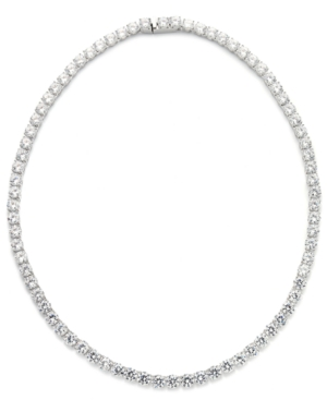 Cubic Zirconia and Crystal Classic Necklace (29 ct. t.w.) Necklace