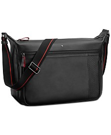 Montblanc Urban Racing Spirit Leather Messenger Bag