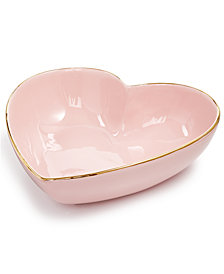 Martha Stewart Collection Heart Serve Bowl, Created for Macy's