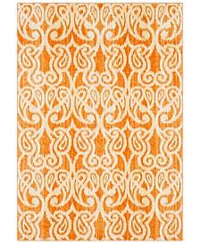 """Surya Aberdine ABE-8020 Bright Orange 5'2"""" x 7'6"""" Area Rug"""