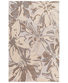Surya Athena ATH-5148 Light Gray 6' x 9' Area Rug