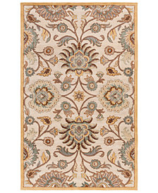 Surya Caesar CAE-1012 Medium Gray 8' x 11' Area Rug