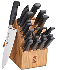 Zwilling J.A. Henckels Four Star 20-Pc. Cutlery Set