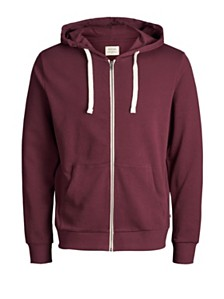 Jack & Jones Men's Basic Zip Up Hoodie