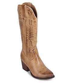 Wanted Texan Western Tall Boot