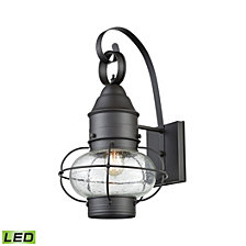 Onion 1 Outdoor Sconce Oil Rubbed Bronze