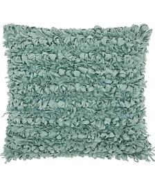 Mina Victory Paper Loop Shag Decorative Pillow