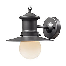 Maritime 1-light Outdoor Sconce in Graphite