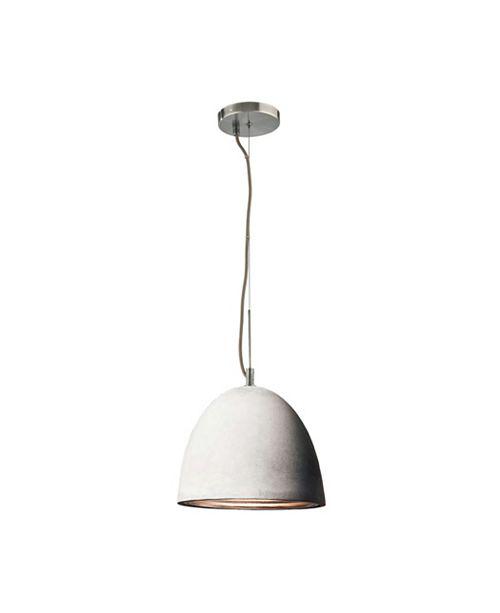 ELK Lighting Castle Med Pendant Concrete with Aluminum.Interior Grey Cord