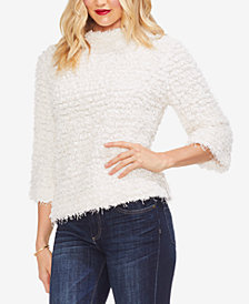 Vince Camuto Popcorn-Texture Sweater